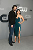 Nathan Parsons &amp; Jeanine Mason from the show  Roswell, New Mexico attends the CW Upfront 2018-2019 at The London Hotel in New York, New York, USA on May 17, 2018.<br /> <br /> photo by Robin Platzer/Twin Images<br />  <br /> phone number 212-935-0770