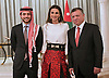 25.05.2015; Amman, Jordan: KING ABDULLAH, QUEEN RANIA, CROWN PRINCE HUSSEIN AND PRINCESS SALMA<br />