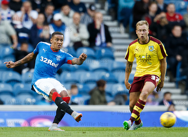 James Tavernier and Scott Arfield