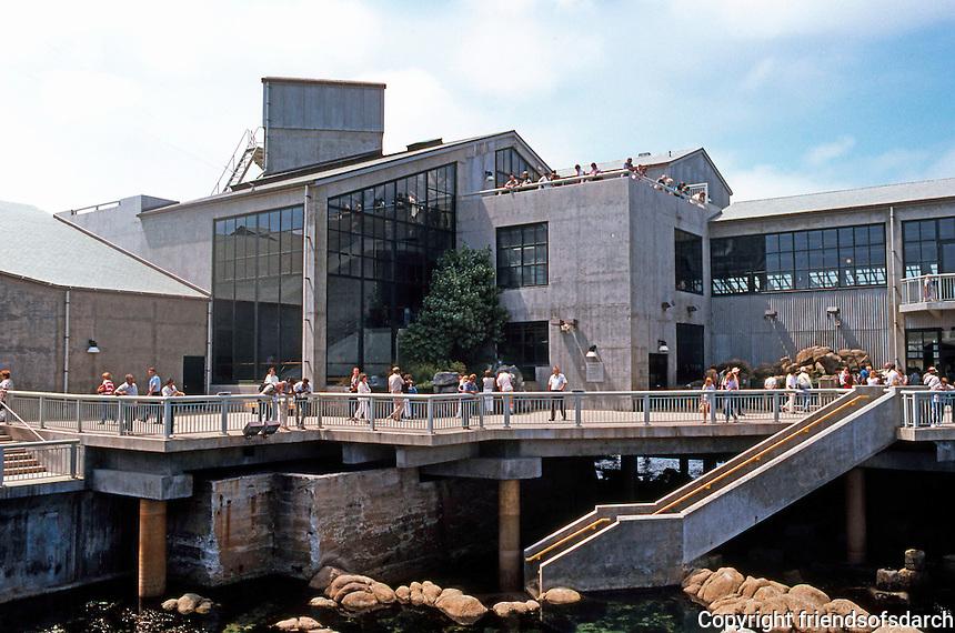 Monterey CA:  Monterey Bay Aquarium. Esherick, Homsey, Dodge. & Davis, 1984.  Photo '85.