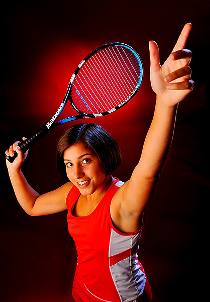 Fauquier High School Athlete of the Year Alexandra Souhlou - photographed in Warrenton, VA