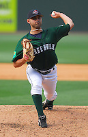 6 May 2007: Kyle Fernandes from a game between the Greenville Drive, Class A affiliate of the Boston Red Sox, and the Augusta GreenJackets at West End Field in Greenville, S.C. Photo by:  Tom Priddy/Four Seam Images