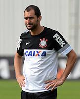 SÃO PAULO,SP, 27 Junho 2013 - Danilo   durante treino do Corinthians no CT Joaquim Grava na zona leste de Sao Paulo, onde o time se prepara  para para enfrenta o Sao Paulo pelas finais da Recopa . FOTO ALAN MORICI - BRAZIL FOTO PRESS
