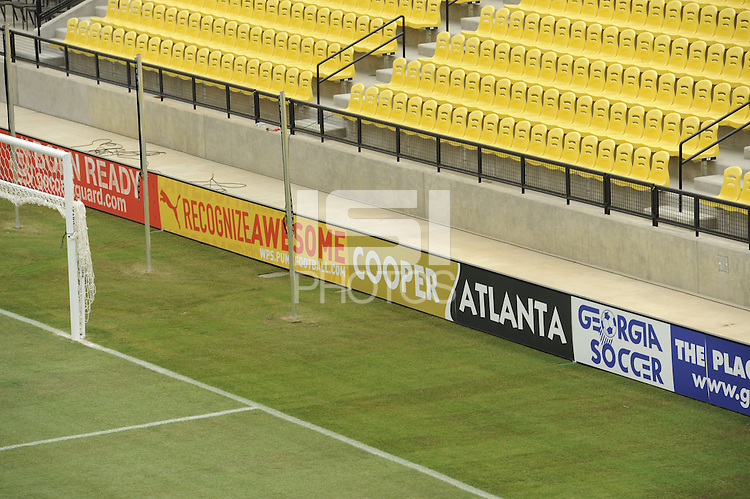 KSU Stadium, home of the Women's Professional Soccer (WPS) 2010 All-Star Game and the Atlanta Beat in Kennesaw, GA, on June 30, 2010.