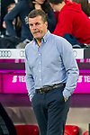06.10.2018, Allianz Arena, Muenchen, GER, 1.FBL,  FC Bayern Muenchen vs. Borussia Moenchengladbach, DFL regulations prohibit any use of photographs as image sequences and/or quasi-video, im Bild Dieter Hecking (Trainer Moenchengladbach) <br /> <br />  Foto &copy; nordphoto / Straubmeier