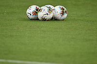 Nike official balls are seen on the pitch during the Serie A football match between SS Lazio and Cagliari Calcio at Olimpico stadium in Rome ( Italy ), July 23th, 2020. Play resumes behind closed doors following the outbreak of the coronavirus disease. Photo Andrea Staccioli / Insidefoto