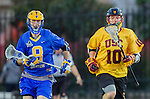 Los Angeles, CA 02/01/14 - Aaron Bucka (UCSB #8) and Jordan Shuchmann (USC #10)