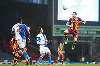 Romain Vincelot of Bradford City during the Sky Bet League 1 match between Blackburn Rovers and Bradford City at Ewood Park, Blackburn, England on 29 March 2018. Photo by Thomas Gadd.
