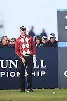 Richard McEvoy (ENG) during the Final Day of the Alfred Dunhill Links Championship at St. Andrews Golf Club on Sunday 29th September 2013.<br /> Picture:  Thos Caffrey / www.golffile.ie