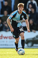 Ryan Sellers of Wycombe Wanderers during the Sky Bet League 2 match between Wycombe Wanderers and Mansfield Town at Adams Park, High Wycombe, England on 25 March 2016. Photo by David Horn.