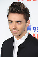 Nathan Sykes<br /> at the Jingle Bell Ball 2016, O2 Arena, Greenwich, London.<br /> <br /> <br /> ©Ash Knotek  D3208  03/12/2016