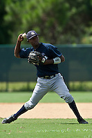 Jose Toussen of the Gulf Coast League Yankees at the ESPN Wide World of Sports Complex in Orlando, Florida July 23 2010. Photo By Scott Jontes/Four Seam Images