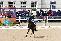 FIN-M.Lindh (MAS GUAPO) 2012 GBR-London Olympic Games - Greenwich Park: EQUESTRIAN/Dressage - Grand Prix: PLACE-26TH