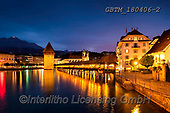 Tom Mackie, LANDSCAPES, LANDSCHAFTEN, PAISAJES, photos,+Chapel Bridge, Europe, European, Kappelbrucke, Lucerne, Reflection Lake, Swiss, Switzerland, Tom Mackie, Urban Environment, b+lue hour, cities, city, cityscape, cityscapes, destination, destinations, dramatic outdoors, horizontal, horizontals, illumin+ation, lake, lakes, landscape, landscapes, light, mountain, mountainous, mountains, night time, nightscene, peak, reflect, re+flecting, reflection, reflections, time of day, tourist attraction, travel, twilight, water,Chapel Bridge, Europe, European,+,GBTM180406-2,#l#, EVERYDAY