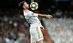 Real Madrid CF's Dani Carvajal controls the ball during UEFA Champions League match, groups between Real Madrid and Galatasaray SK at Santiago Bernabeu Stadium in Madrid, Spain. November, Wednesday 06, 2019.(ALTERPHOTOS/Manu R.B.)