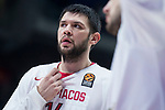 Olympiacos Piraeus Kostas Papanikolaou during Turkish Airlines Euroleague match between Real Madrid and Olympiacos Piraeus at Wizink Center in Madrid , Spain. February 09, 2018. (ALTERPHOTOS/Borja B.Hojas)