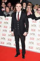 Alan Halsal at the National TV Awards 2017 held at the O2 Arena, Greenwich, London. <br /> 25th January  2017<br /> Picture: Steve Vas/Featureflash/SilverHub 0208 004 5359 sales@silverhubmedia.com
