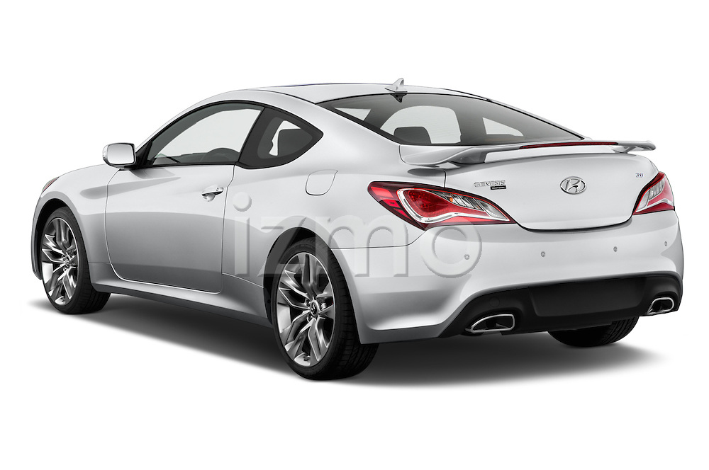 Car pictures of rear three quarter view of2015 Hyundai Genesis Coupe 3.8T 8-Speed A/T 2 Door Coupe 2WD Angular Rear