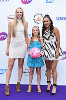Naomi Broady and Heather Watson at the Women's Tennis Association 's (WTA) Tennis on The Thames evening reception at OXO2, London, UK. <br /> 28 June  2018<br /> Picture: Steve Vas/Featureflash/SilverHub 0208 004 5359 sales@silverhubmedia.com