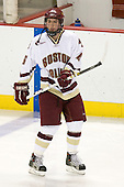 Tim Kunes (BC - 6) - The Boston College Eagles defeated the visiting Northeastern University Huskies 7-1 on Friday, March 9, 2007, to win their Hockey East quarterfinals matchup in two games at Conte Forum in Chestnut Hill, Massachusetts.