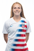 Sarasota, FL - Saturday, October 09, 2018:  Headshot of U-17 USWNT player Megan Bornkamp.