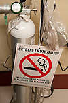 Emergency oxygen canister