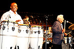 May 30, 2009:  Barry Bonds and Pete Escovedo at 'Rhythm on the Vine' charity event to benefit Shriners Children Hospital held at  the Gainey Vineyard in Santa Ynez, California..Photo by Nina Prommer/Milestone Photo