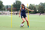 CARY, NC - JULY 27: Ashley Hatch. The North Carolina Courage held a training session on July 27, 2017, at WakeMed Soccer Park Field 7 in Cary, NC.