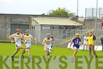Action from the Senior County Hurling Championship Final Lixnaw V Kilmoyley at Austin Stack park on Sunday