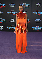 HOLLYWOOD, CA - April 19: Zoe Saldana, At Premiere Of Disney And Marvel's &quot;Guardians Of The Galaxy Vol. 2&quot; At The Dolby Theatre  In California on April 19, 2017. <br /> CAP/MPI/FS<br /> &copy;FS/MPI/Capital Pictures
