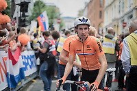 Bauke Mollema (NED/Trek-Segafredo) post-finish<br /> <br /> Men Elite Road Race<br /> <br /> UCI 2017 Road World Championships - Bergen/Norway