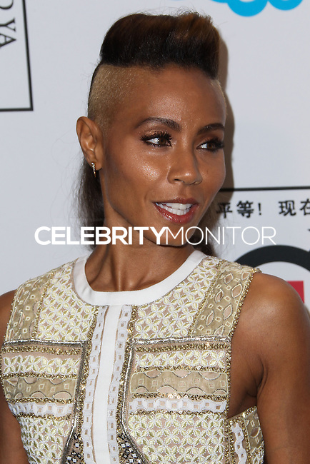 "BEVERLY HILLS, CA - NOVEMBER 04: Actress Jada Pinkett Smith arrives at the Equality Now Presents ""Make Equality Reality"" Event held at the Montage Beverly Hills on November 4, 2013 in Beverly Hills, California. (Photo by Xavier Collin/Celebrity Monitor)"