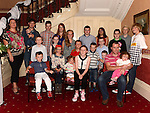 All the grandchildren at the Garry family gathering at the Boyne Valley hotel. Photo:Colin Bell/pressphotos.ie