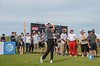 Andrew Wise (USA) watches his tee shot on 8 during round 4 of the AT&T Byron Nelson, Trinity Forest Golf Club, at Dallas, Texas, USA. 5/20/2018.<br /> Picture: Golffile | Ken Murray<br /> <br /> All photo usage must carry mandatory copyright credit (© Golffile | Ken Murray)