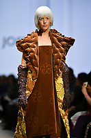 7 September 2017, Melbourne - Model parades design by RMIT student Madeleine Jost during the Melbourne Fashion Week in Melbourne, Australia. (Photo Sydney Low / asteriskimages.com)