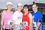 Pictured at the Kerryhead Half Marathon in Ballyheigue on Sunday, from left: Mary Rose Dillon (The Spa), Ailish Magan (Dublin), Mary O'Connell (Killarney) and Catriona O'Shea (Killarney)..