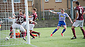 Morton's Declan McManus celebrates after he scores their first goal.