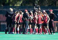 STANFORD, CA - November 4, 2011: Team during the Stanford vs. Davidson in the second round of  the  NorPac Championship at the Varsity Turf on the Stanford campus Friday afternoon.<br /> <br /> Stanford defeated Davidson 7-2.