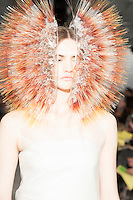 Maiko Takeda, Fashion Womenswear, Millinery 2014