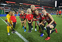 Portland, OR - Wednesday, July 24, 2019: Portland Thorns vs Houston Dash at Providence Park.