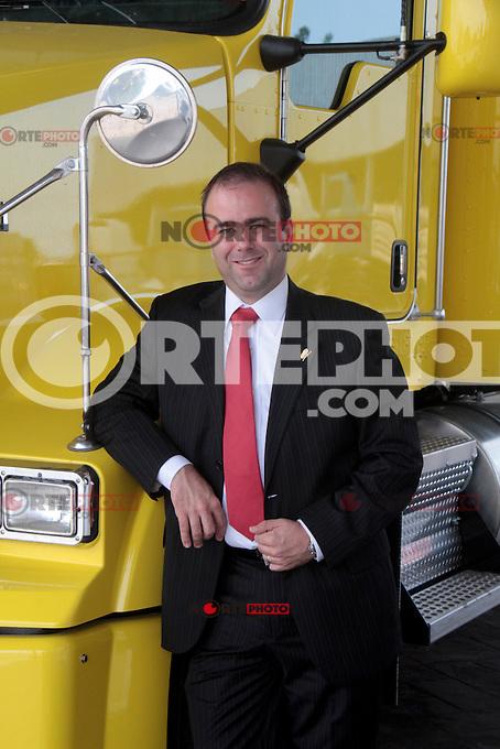 Lic. Diego G&oacute;mez Quintanilla presidente del Grupo IMEF en Tampico. 10 junio 2014.<br /> *Foto:&copy;JoseTapia*/NortePhoto.com