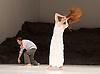 Tanztheater Wuppertal Pina Bausch <br /> &lsquo;Masurca Fogo&rsquo; <br /> at Sadler's Wells, London, Great Britain <br /> rehearsals<br /> 8th February 2017 <br /> <br /> Tanztheater Wuppertal Pina Bausch: Masurca Fogo<br /> &nbsp;Breanna O'Mara<br /> Masurca Fogo, created by the endlessly inventive Pina Bausch, returns to Sadler&rsquo;s Wells from 9 - 12 February 2017. The piece is performed by the legendary Tanztheater Wuppertal Pina Bausch, a Sadler&rsquo;s Wells International Associate Company.<br /> <br /> <br /> <br /> <br /> Performers:<br /> Regina Advento, Pablo Aran Gimeno, Emma Barrowman, Rainer Behr, Andrey Berezin, Michael Carter, &Ccedil;ağdaş Ermis, Silvia Farias Heredia, Jonathan Fredrickson, Ditta Miranda Jasjfi, Daphnis Kokkinos, Cristiana Morganti, Breanna O&rsquo;Mara, Nazareth Panadero, Julie Shanahan, Oleg Stepanov, Julian Stierle, Fernando Suels Mendoza, Aida Vainieri, Ophelia Young.<br /> <br /> Photograph by Elliott Franks <br /> Image licensed to Elliott Franks Photography Services