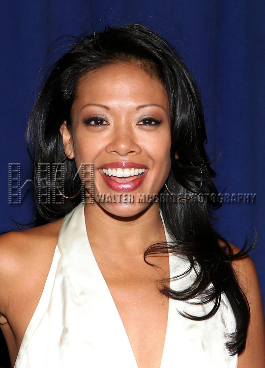 J. Elaine Marcos attending the Meet & Greet for 'ANNIE' at The New 42nd Street Rehearsal Studios in New York City on September 112, 2012