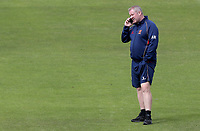 Anthony McGrath of Essex talks on the phone prior to the Nottinghamshire CCC vs Essex CCC, Specsavers County Championship Division 1 Cricket at Trent Bridge on 1st July 2019