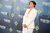 "Celia Pastor attends to the premiere of the new series of chanel Calle 13, ""Shades of Blue"" at Callao Cinemas in Madrid. April 05, 2016. (ALTERPHOTOS/Borja B.Hojas) /NortePhoto.com"