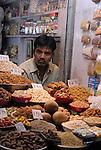 Vendor in Old Delhi, India.