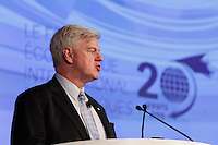 John Manley,<br /> President and CEO, Canadian Council of Chief Executives  <br /> attend the International Economic Forum of the Americas 20th Edition, from June 9-12, 2014 <br /> <br />  Photo : Agence Quebec Presse - Pierre Roussel