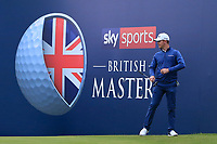 Brandon Stone (RSA) on the 18th during Round 2 of the Sky Sports British Masters at Walton Heath Golf Club in Tadworth, Surrey, England on Friday 12th Oct 2018.<br /> Picture:  Thos Caffrey | Golffile<br /> <br /> All photo usage must carry mandatory copyright credit (&copy; Golffile | Thos Caffrey)