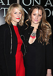 Mamie Gummer & Grace Gummer attending the Broadway Opening Night Performance of 'Cat On A Hot Tin Roof' at the Richard Rodgers Theatre in New York City on 1/17/2013