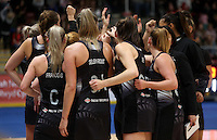 07.02.2017 Action during the Wales v Silver Ferns netball test match at Swansea University at Ice Arena Wales. Mandatory Photo Credit ©Ian Cook/Michael Bradley Photography.